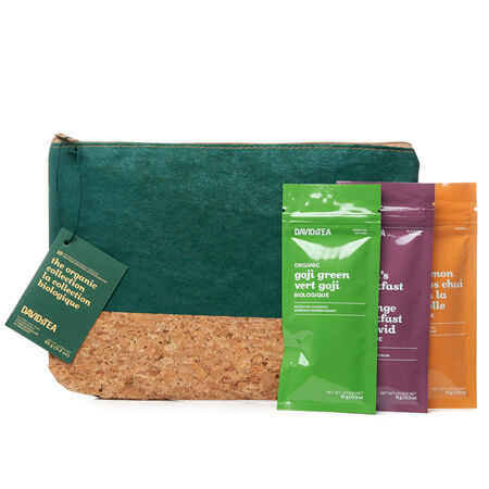 The Organic Collection Tea Singles Travel Pouch