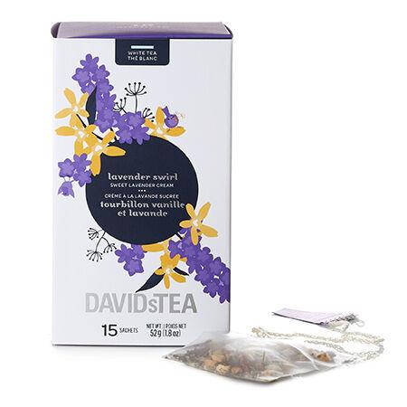 Lavender Swirl Sachets