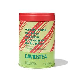 Candy Cane Matcha Tea Iconic Tin