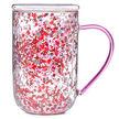 Love Confetti Glass Nordic Mug
