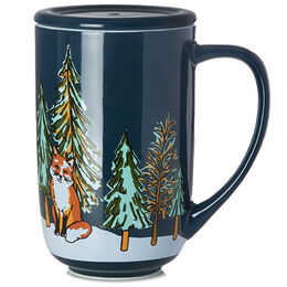 Nordic Mug Winter Fox