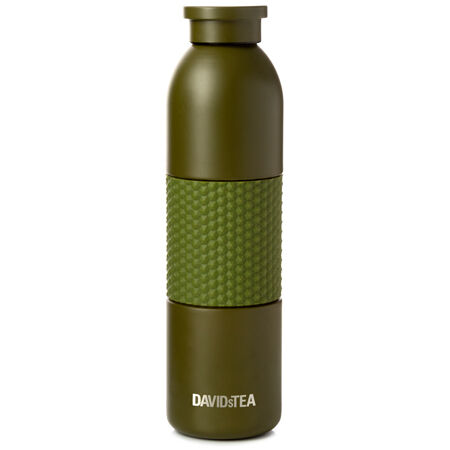 Army Green Matte Stainless Steel Bottle