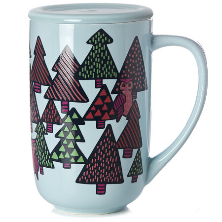 Owls & Pines Colour Changing Nordic Mug