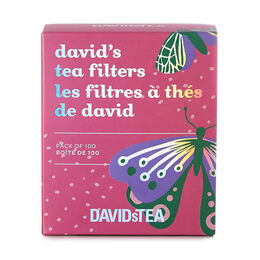 Butterfly David's Tea Filters Pack of 100