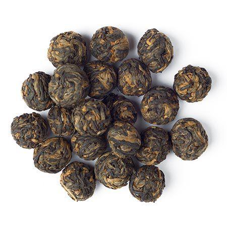 Perles noires au jasmin biologique