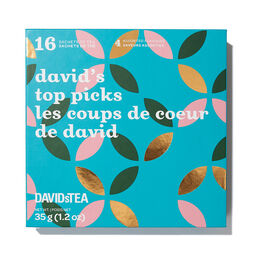 David's Top Picks Mini Sachet Tea Chest