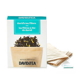 David's Tea Filters Pack of 20