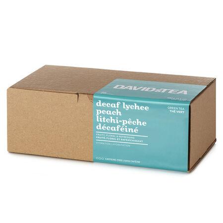 Boîte de 25sachets Litchi-pêche décaféiné