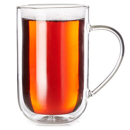Double Walled Nordic Mug Glass