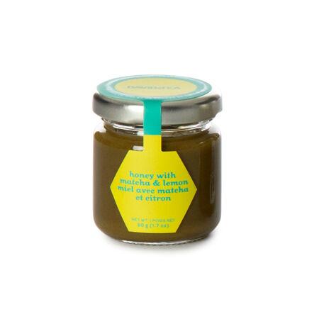 Lemon Matcha Honey Jar