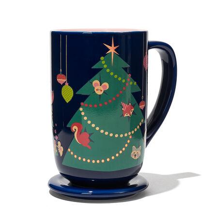 Tasse Nordic changeant de couleur à arbre des fêtes