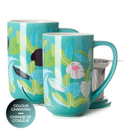 Nordic Mug Color Changing Leafy