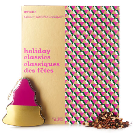 Holiday Classics Tea-filled Ornament Box
