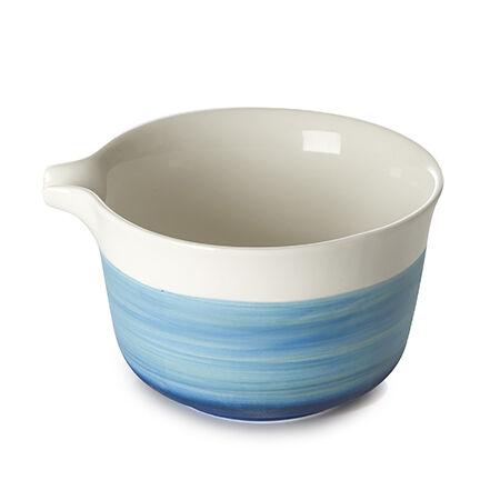 Indigo Artisanal Matcha Bowl with Spout