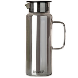 Glass Pitcher Gunmetal