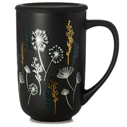 Colour Changing Nordic Mug Dandelion Black