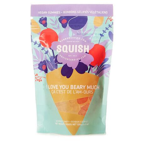Bonbons Ours pétillants végétaliens par SQUISH
