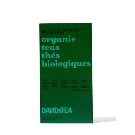 Organic Teas Variety Pack of 20 Sachets