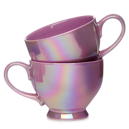 Berry Blast Bloom Teacup Set of 2