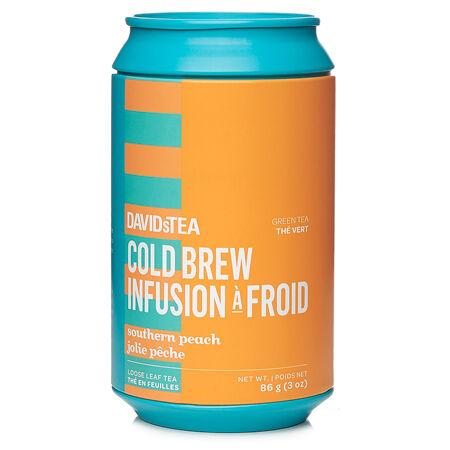 Southern Peach Cold Brew Soda Can