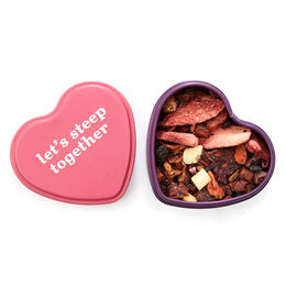 Chocolate Covered Strawberry Heart Shaped Tin