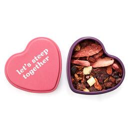 Boîte en forme de cœur – Fraise au chocolat