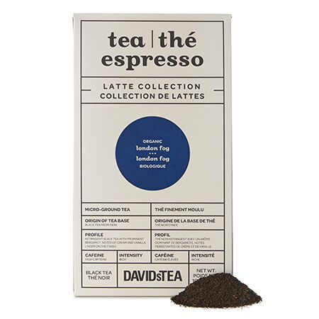 Thé Espresso London Fog biologique