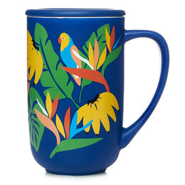 Color Changing Nordic Mug Tropical Navy