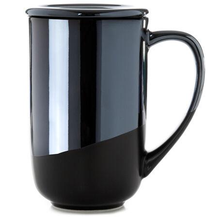 High Gloss Matte Black Nordic Mug