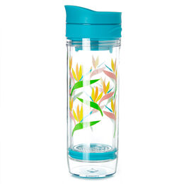 Iced Tea Press Tropical Leaves Teal