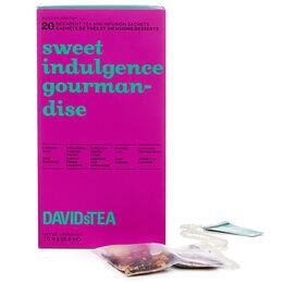 gourmandise - boîte de 20 sachets de thés assortis