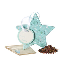 Caramel Shortbread Tea-filled Ornament