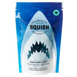 Bonbons gélifiés Vilains requins végétaliens SQUISH
