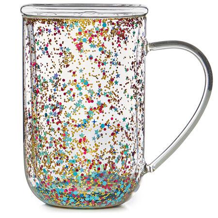 Tasse Nordic en verre à confettis Célébration