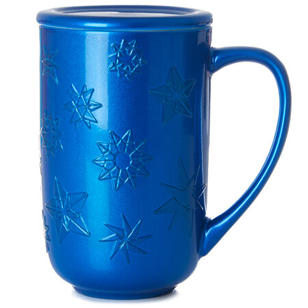 Embossed Snowflake Nordic Mug