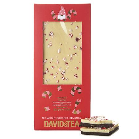 Écorces de chocolat au thé Le secret du père Noël