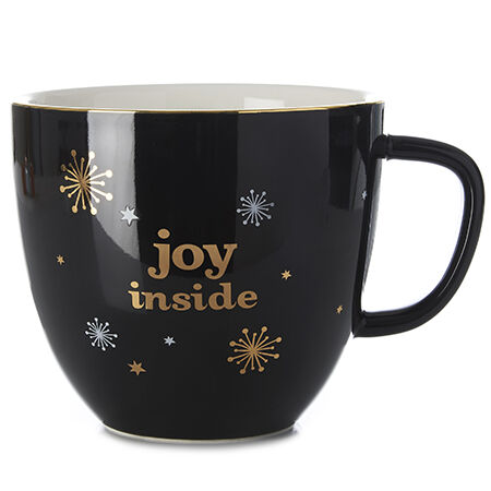 Joy Inside Latte Mug