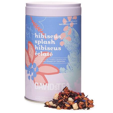 Hibiscus Splash Iconic Tin