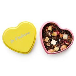 Bergamot Kisses Heart Shaped Tin