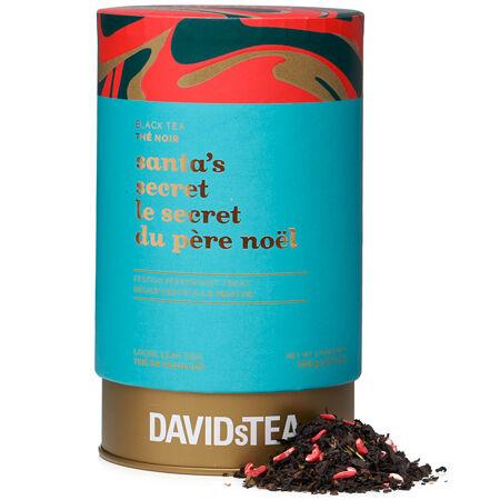 Santa's Secret Large Tea Tin