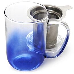 Nordic Mug Glass Gradient Deep Sea
