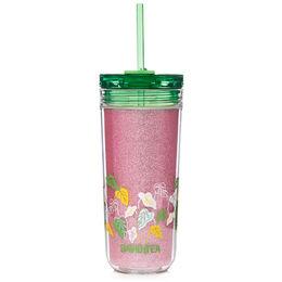 Favourite Tumbler Tritan Glitter Camellia Pink