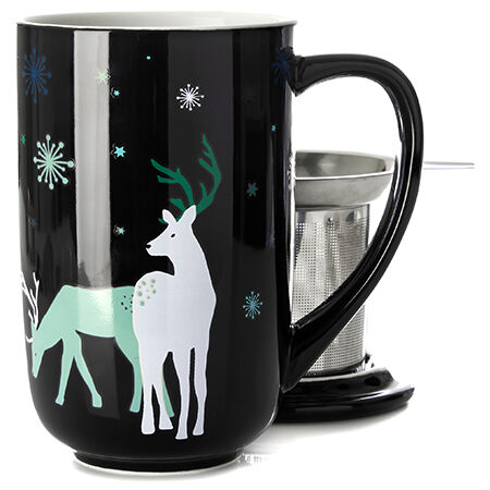 Reindeer Colour Changing Nordic Mug