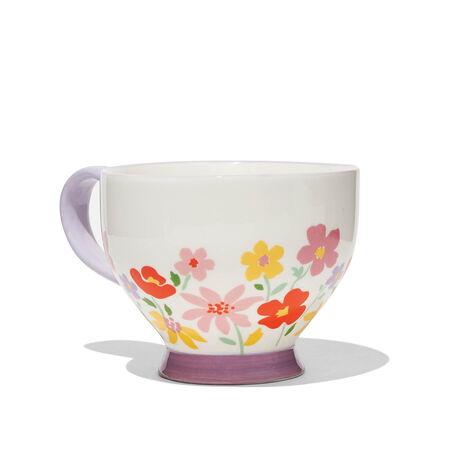 Blueberry Bloom Teacup
