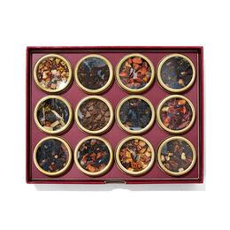 Coffret dégustation de 12 thés Favoris d'automne