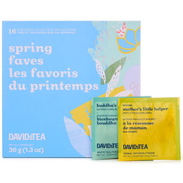 Spring Faves Mini Sachet Tea Chest