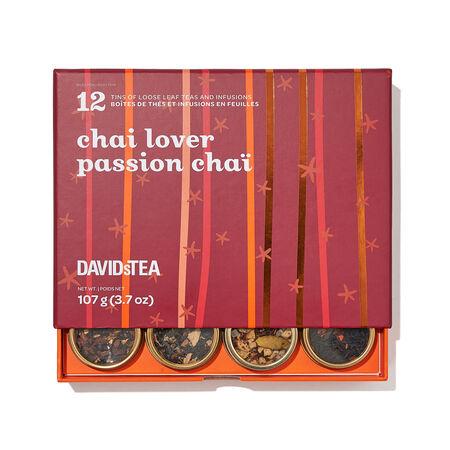Chai Lovers 12 Tea Sampler