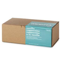Boîte de 25sachets Cappuccino à la vanille
