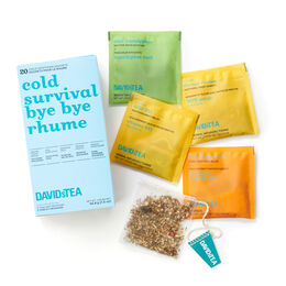 Variety Pack of 20 Sachets - Cold Survival