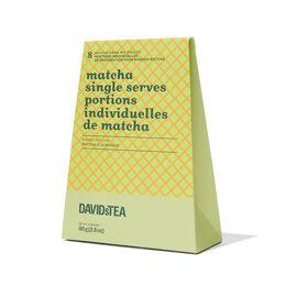 Portions individuelles de Matcha à la mangue